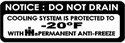 Picture of Do Not Drain Decal