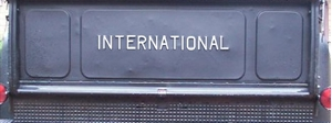 Picture of C-Series Tailgate lettering