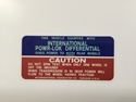 Picture of Powr-Lok Differential decal